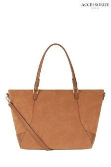 Accessorize Tan Isabel Shoulder Bag