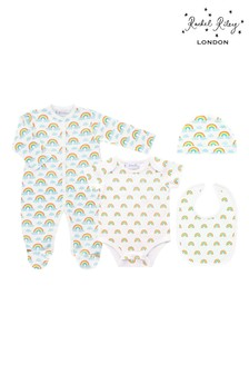 Rachel Riley Welcome Baby Rainbow Gift Set