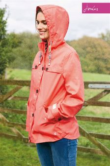 Joules Redsky Waterproof Hooded Coast Jacket