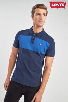 Levi's® Navy Colourblock Polo