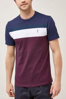 Block Stripe T-Shirt