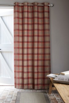 Tweedy Cranford Eyelet Door Curtains
