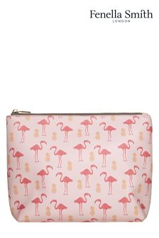 Fenella Smith Flamingo And Pineapple Wash Bag