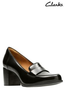 Clarks Tarah Grace Heeled Loafer