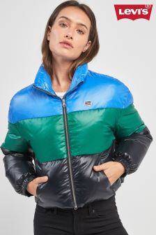Levi's® Colourblock Short Padded Jacket