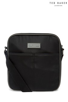 Ted Baker Black Beachi Nylon Flight Bag