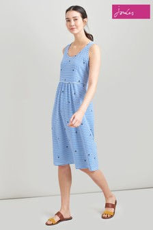 Joules Gabriella Sleeveless Jersey Dress