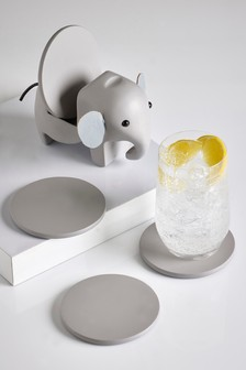 Elephant Coaster Holder