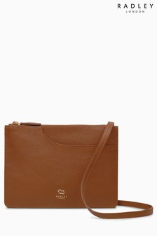 Radley Tan Pockets Medium MultiCompartment Acrossbody