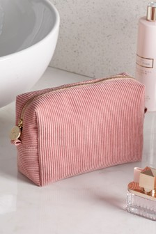 Corduroy Cosmetic Bag