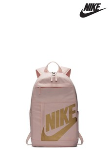 Nike Sportswear Pink/Gold Elemental Backpack