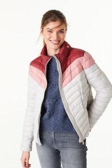 Krátká vatovaná sbalitelná bunda
