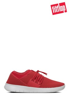FitFlop™ Red Mesh Angeline Lace-Up Sneaker
