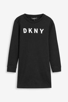 DKNY Black Jersey Dress