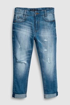 Distressed Five Pocket Jeans (3-16yrs)