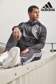 adidas Black Gametime Tracksuit