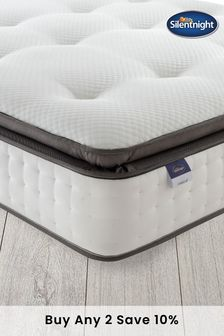 Silentnight Geltex Miracoil Pillow Top Mattress