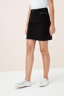חצאית מיני מקורדרוי