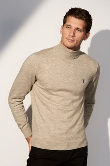 Marl Roll Neck Jumper