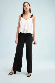 Woven Layer Jumpsuit