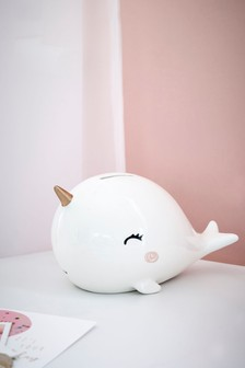 Narwhal Money Box
