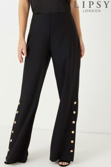 Lipsy Button Detail Trouser