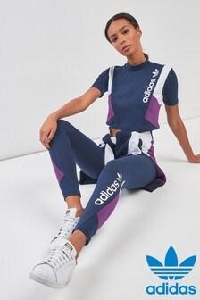 adidas Originals 90s Block Navy Legging