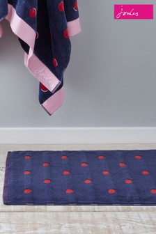 Joules Shadow Spot Bath Mat