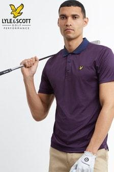 Lyle & Scott Golf Microstripe Polo