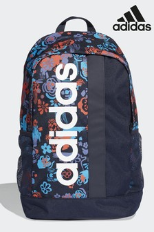 adidas Blue Linear Core Graphic Backpack