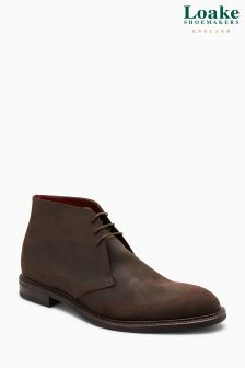 Loake Brown Spirit Waxy Chukka Boot