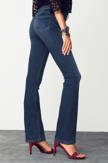 Lift, Slim And Shape Jeans mit Bootcut-Schnitt