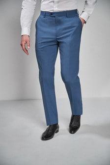 חליפת צמר מעורב נמתח: מכנסיים