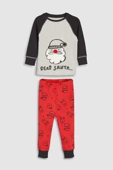 Santa Snuggle Fit Pyjamas (9mths-8yrs)