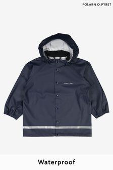 Polarn O. Pyret Blue Waterproof Rain Jacket