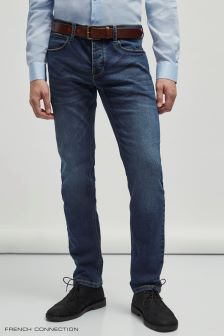 French Connection Dark Wash Long Slim Jean