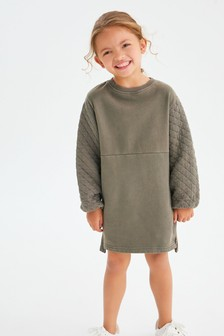 Quilted Jumper Dress (3-16yrs)