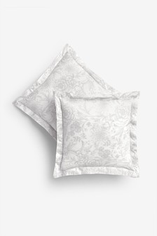 Set of 2 Heritage Square Pillowcases