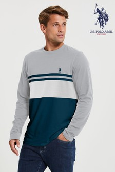 U.S. Polo Assn. Varsity Block T-Shirt