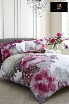 Mayfair Lady Duvet Cover and Pillowcase Set by Laurence Llewelyn-Bowen