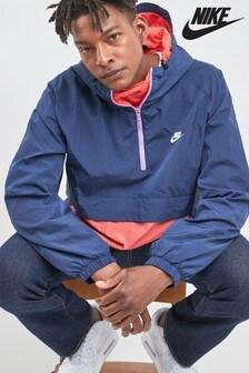 Nike Navy Woven Anorak