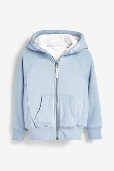 Borg Lined Hoody (3-16yrs)