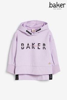 Baker by Ted Baker Logo Overhead Hoodie