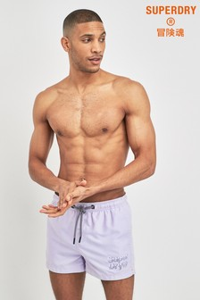 Superdry Purple Swim Short