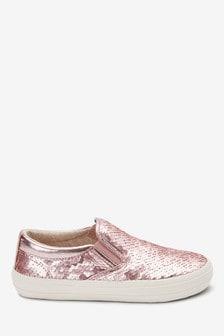 Sequin Skate Shoes (Older)