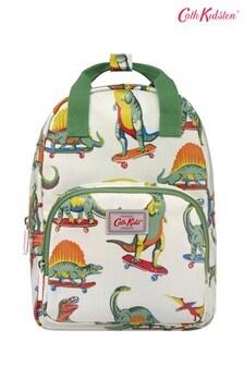 Cath Kidston® Kids White Skateboard Dino Medium Backpack
