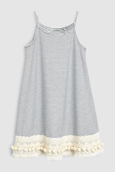 Crochet Hem Dress (3-16yrs)