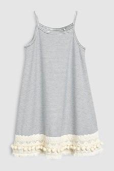 Kleid mit Häkelsaum (3-16yrs)
