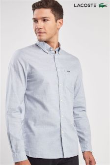 Lacoste® Phoenix Blue Long Sleeve Shirt
