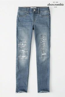 Abercrombie & Fitch Mid Wash Pull On Jean